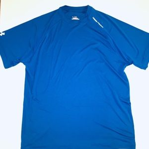 Shirts   Blue Under Armour Dry Fit Heat Gear